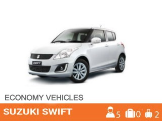 Suzuki Swift Car Rental in Barbados